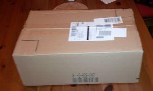 Paket endlich